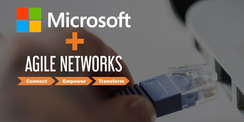 Agile Networks And Microsoft Announce Agreement To Deliver Broadband